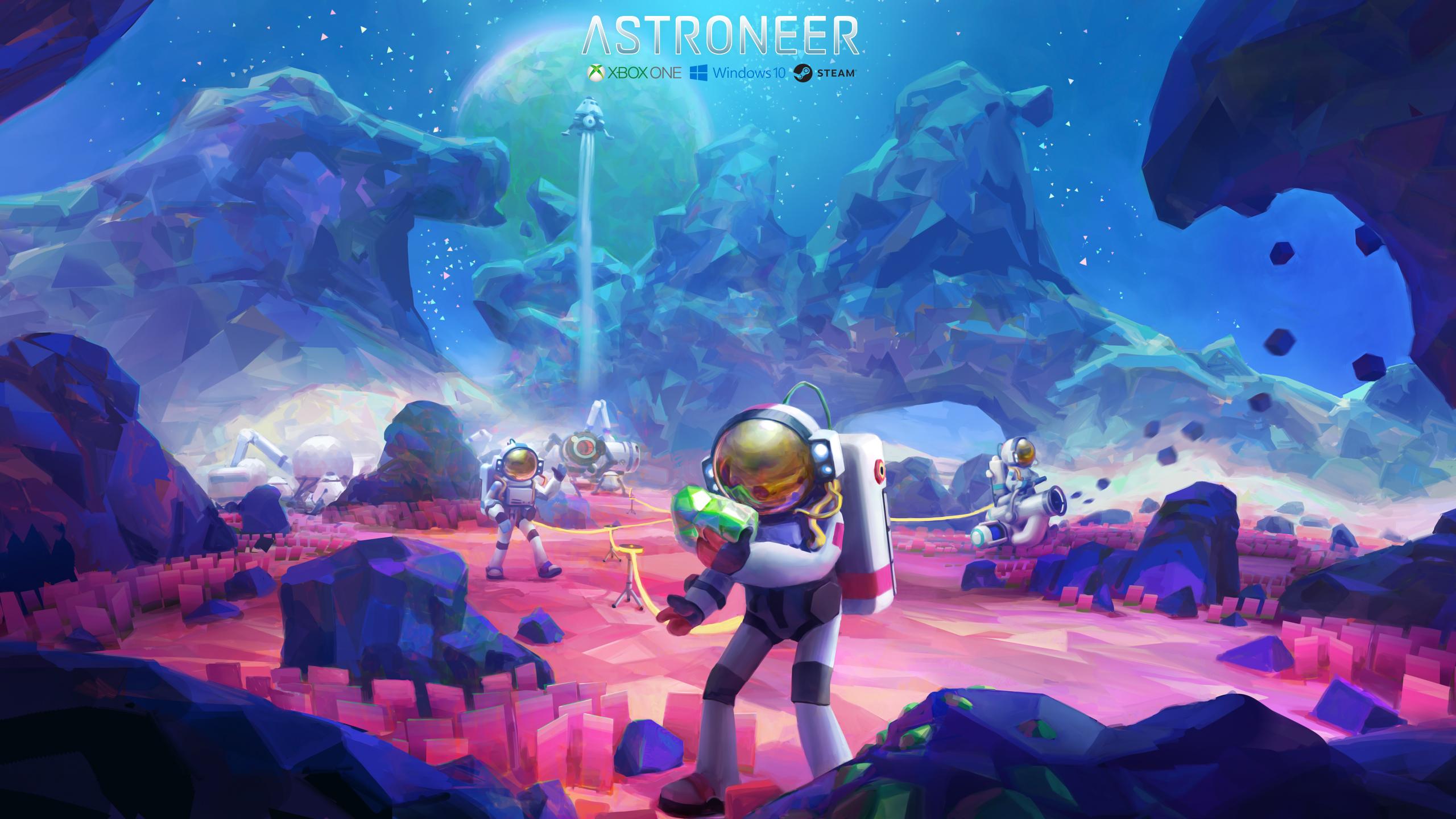 Astroneer Ya Disponible En Pc Y Xbox One Pc Indie Master Race